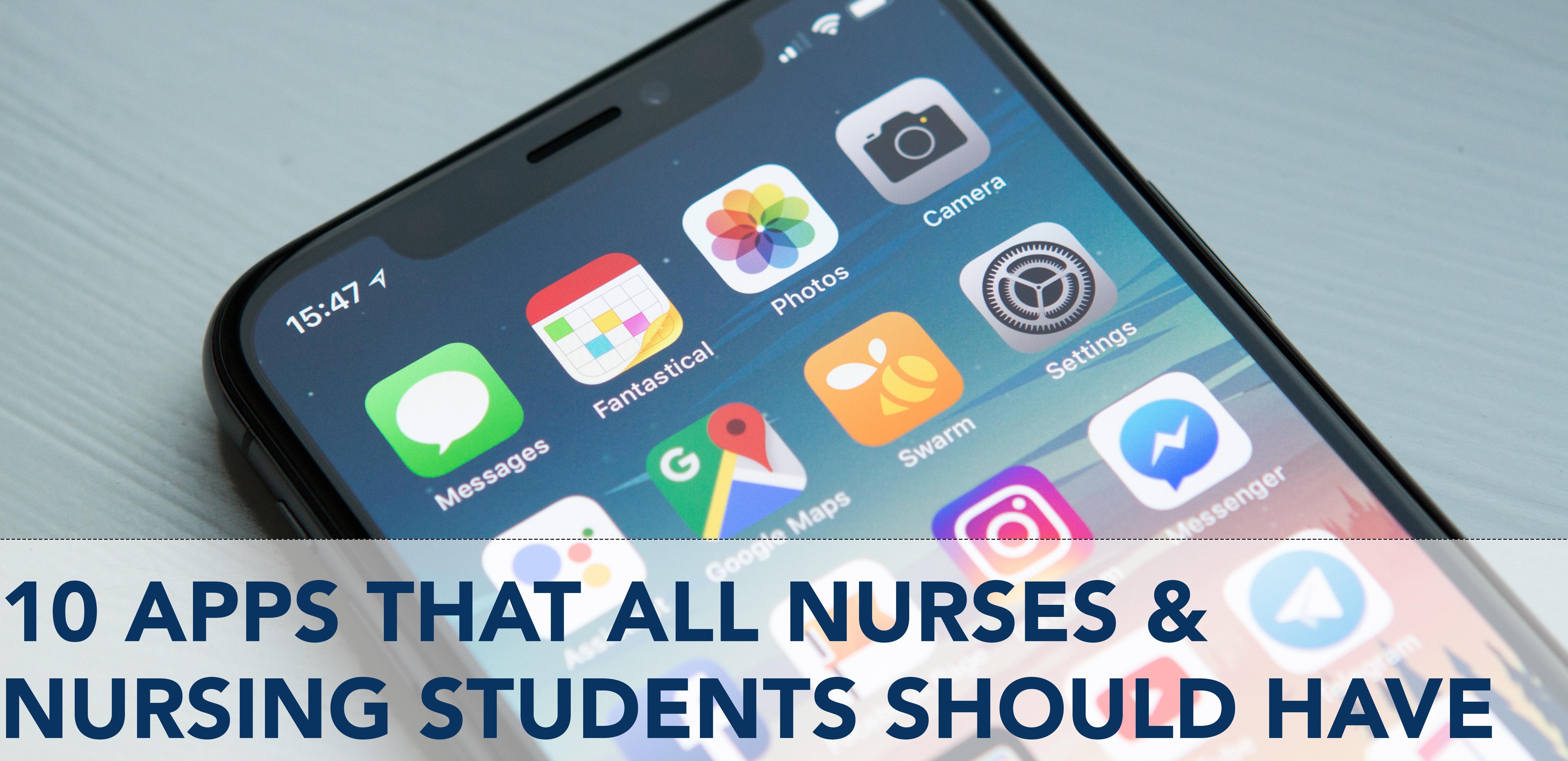 10-apps-nursing